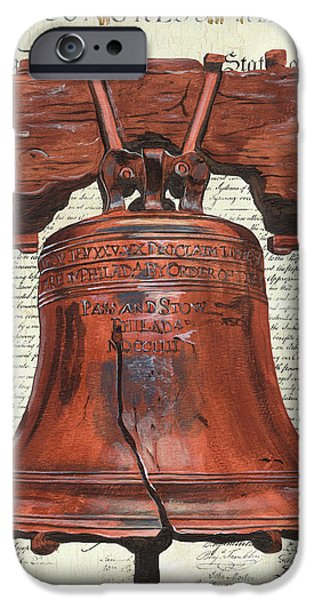 Life And Liberty IPhone Case by Debbie DeWitt