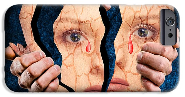 Life Is Full Of Pain And Suffering IPhone Case by Solomon Barroa