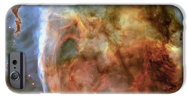 Light And Shadow In The Carina Nebula IPhone Case by Adam Romanowicz