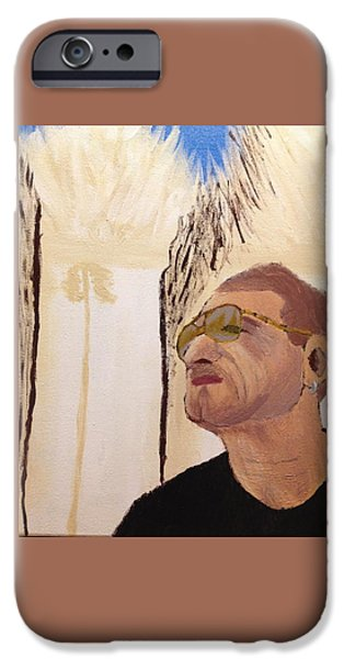 Light My Way Man In Myanmar Bono IPhone Case by Sabne Raznik
