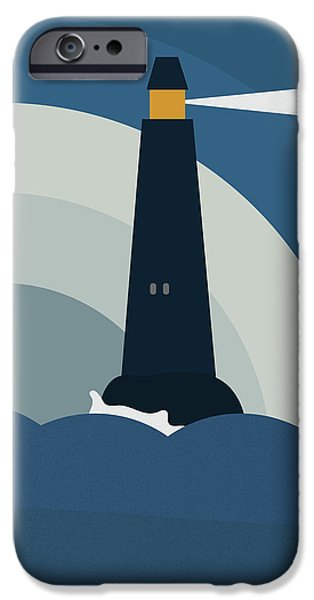 Lighthouse IPhone Case by Frank Tschakert