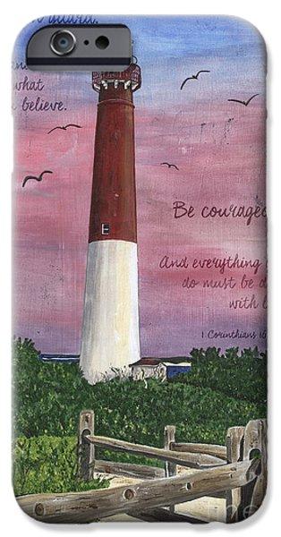 Lighthouse Inspirational IPhone Case by Debbie DeWitt