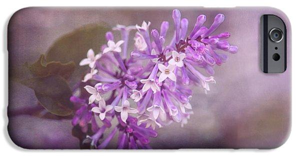 Lilac Blossom IPhone Case by Tom Mc Nemar