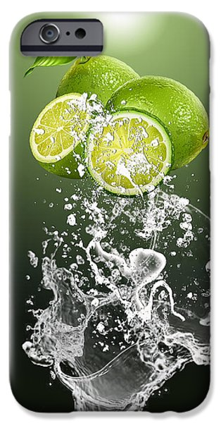 Lime Splash IPhone 6s Case by Marvin Blaine