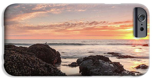 Lincoln City Beach Sunset - Oregon Coast IPhone Case by Brian Harig