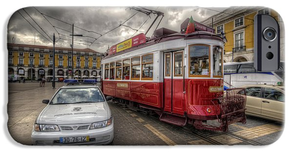 Lisbon Tram IPhone 6s Case by Yhun Suarez