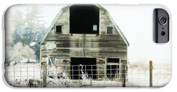 Little Barn IPhone Case by Julie Hamilton