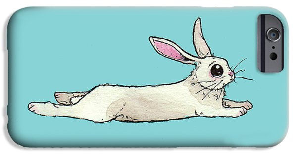 Little Bunny Rabbit IPhone 6s Case by Katrina Davis