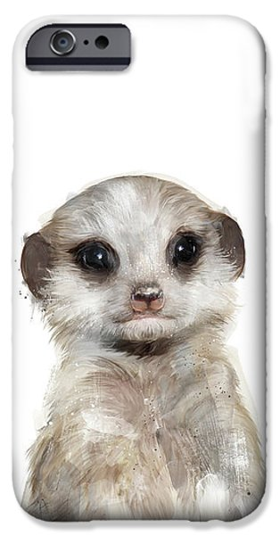 Little Meerkat IPhone 6s Case by Amy Hamilton