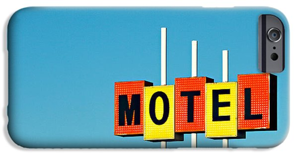 Little Motel Sign IPhone Case by Todd Klassy