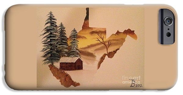 Little Wv Cabin IPhone Case by Tim Blankenship