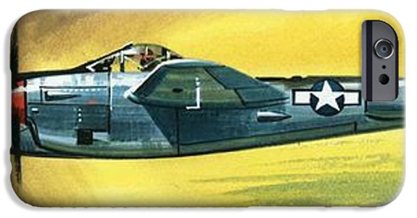 Lockheed P-38j Lightning IPhone Case by Wilf Hardy