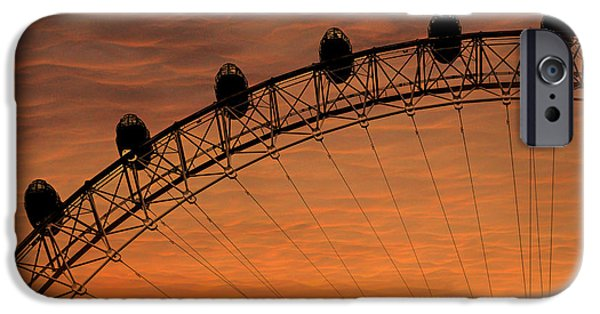London Eye Sunset IPhone 6s Case by Martin Newman