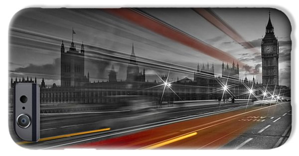 London Red Bus IPhone 6s Case by Melanie Viola