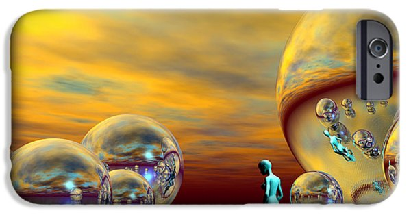 Loneliness IPhone 6s Case by Sandra Bauser Digital Art