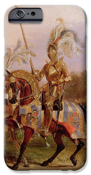 Lord Of The Tournament IPhone 6s Case by Edward Henry Corbould