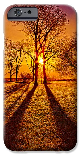 Lores Of Folk IPhone Case by Phil Koch