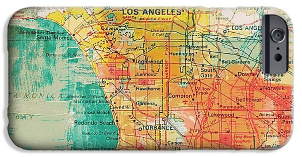 Los Angeles Coast  IPhone Case by Brandi Fitzgerald