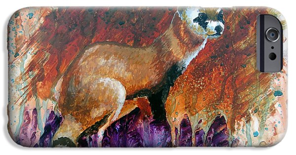Lost Black-footed Ferret IPhone Case by Marcus Moller
