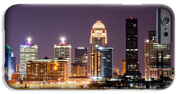Louisville 1 IPhone Case by Amber Flowers