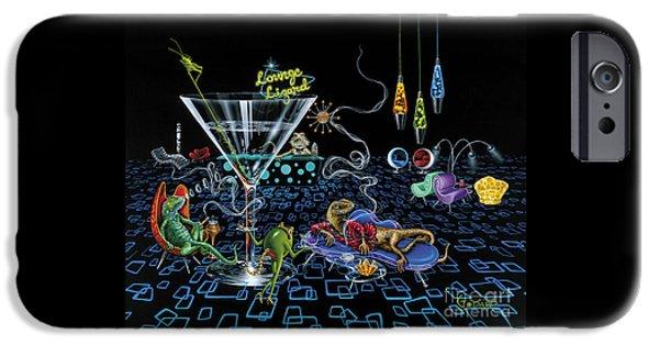 Lounge Lizard IPhone 6s Case by Michael Godard