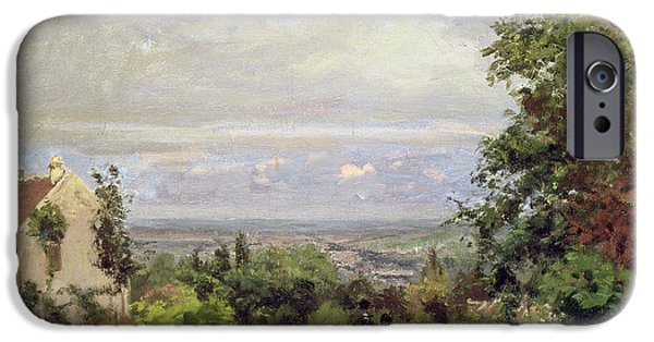 Louveciennes IPhone Case by Camille Pissarro