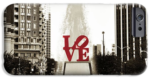Love In Philadelphia IPhone 6s Case by Bill Cannon