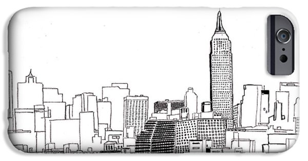 Love Nyc Monochrome IPhone Case by Callan Percy
