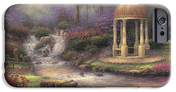 Love's Infinity Garden IPhone Case by Chuck Pinson
