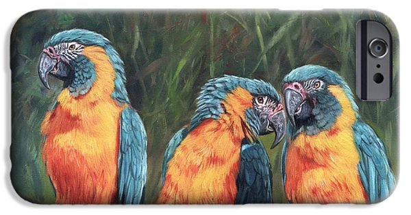 Macaws IPhone 6s Case by David Stribbling