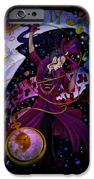 Mad Hatter IPhone Case by Grey Kirin