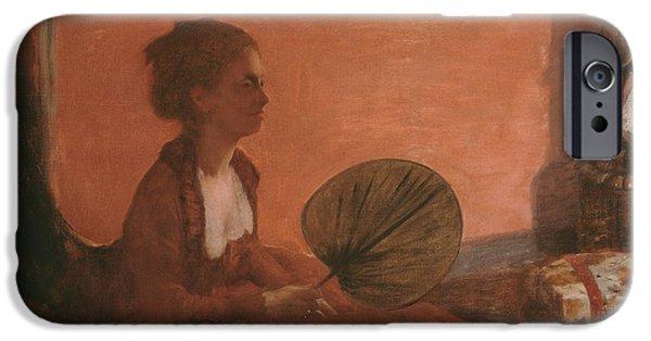 Madame Camus IPhone Case by Edgar Degas