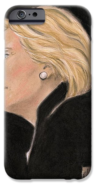 Madame President IPhone 6s Case by P J Lewis