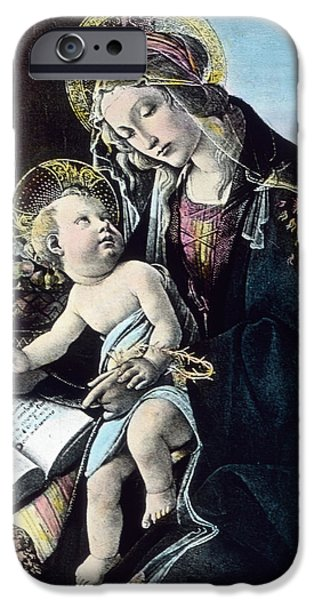 Madonna And Child IPhone Case by German School