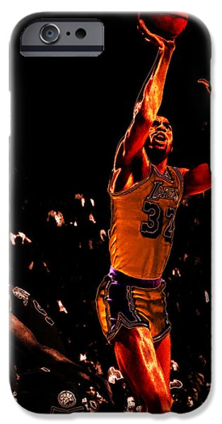 Magic Johnson Lean Back II IPhone 6s Case by Brian Reaves