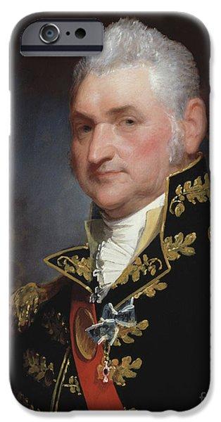 Major General Henry Dearborn IPhone Case by Gilbert Stuart