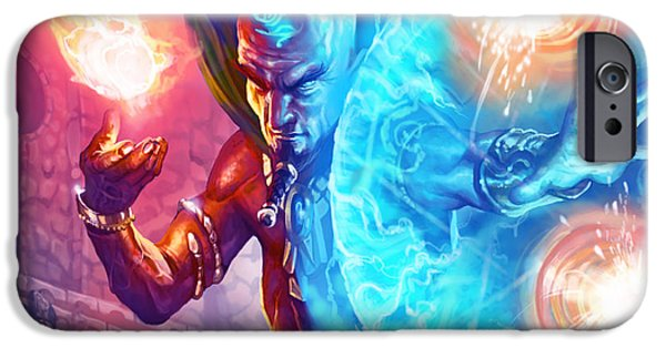 Manashield IPhone Case by Ryan Barger