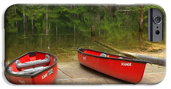 Manatee Springs Boat Launch IPhone Case by Adam Jewell