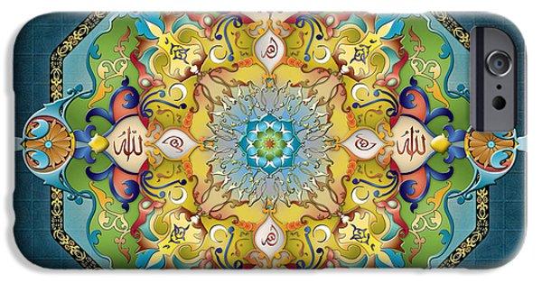 Mandala Arabesque IPhone Case by Bedros Awak