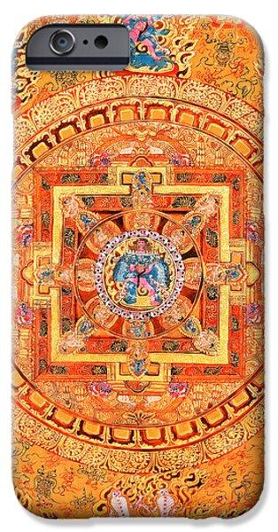 Mandala Of Heruka In Yab Yum IPhone Case by Lanjee Chee
