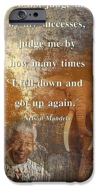 Mandela 4 IPhone Case by Sharon Lisa Clarke