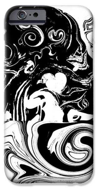 Mandela Effect... Dueling Realities IPhone Case by Abstract Angel Artist Stephen K