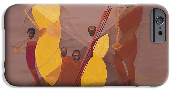 Mango Jazz IPhone 6s Case by Kaaria Mucherera
