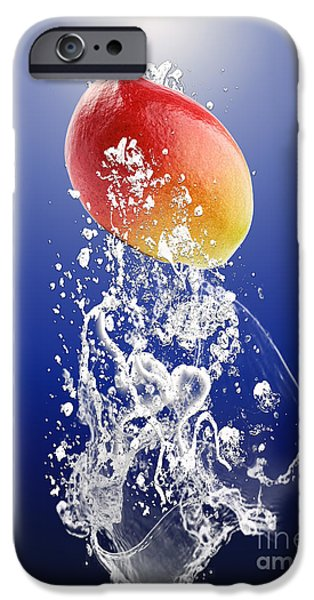 Mango Splash IPhone Case by Marvin Blaine