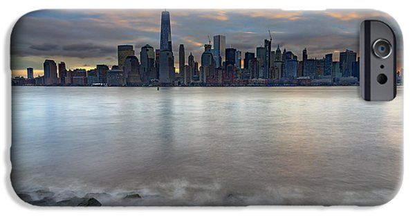 Manhattan Sunrise IPhone Case by Rick Berk