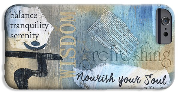 Mantra IPhone Case by Debbie DeWitt