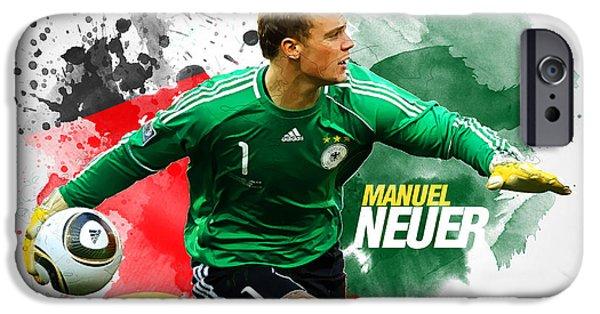 Manuel Neuer IPhone 6s Case by Semih Yurdabak