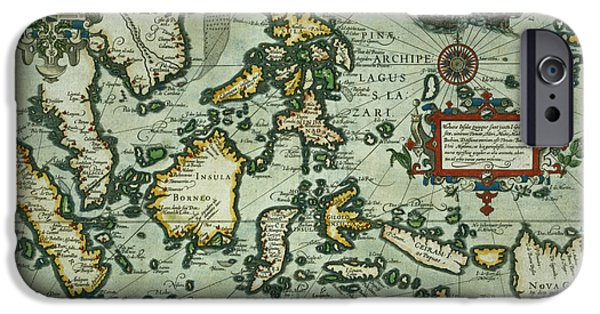 Map Of The East Indies IPhone Case by Dutch School