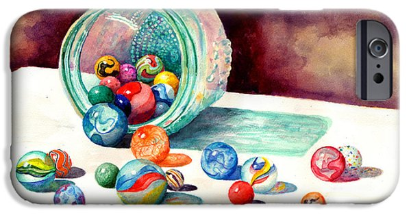 Marbles IPhone Case by Sam Sidders
