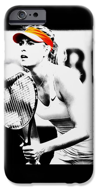 Maria Sharapova Stay Focused 2 IPhone Case by Brian Reaves